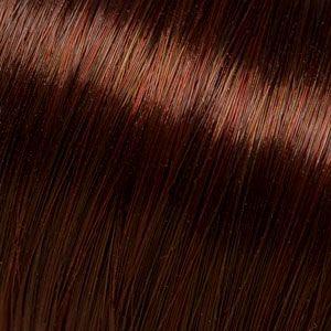 ProbeSträhnen - 30cm - Braun-Dunkel-Rot