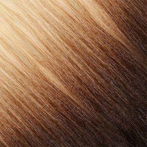Ombre Strähnen – Blond-Platin Gold-Beige / Braun-Schwarz